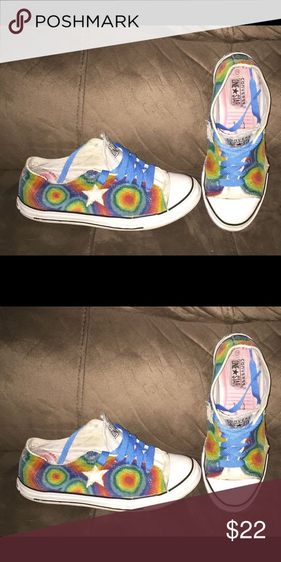 Women's Sz 8.5 Converse One Star Tie Dyed Women's Sz 8.5 Converse One Star Tie Dye tennis shoes. Good condition. Bundle and receive a discount. All reasonable offers considered. Converse Shoes Sneakers