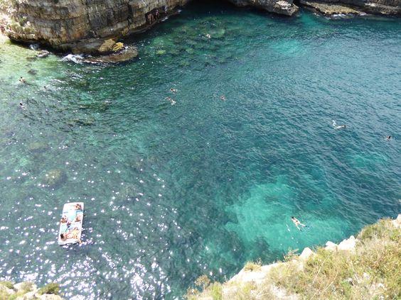 Polignano a Mare, Puglia Italia (Luglio)