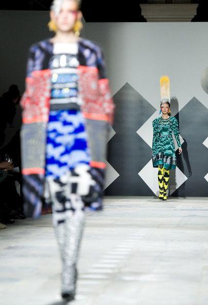 Louise Gray: Runway - LFW Autumn/Winter 2012