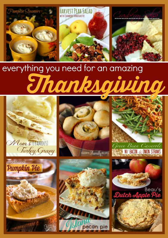 A compilation of all the Thanksgiving recipes you will need to pull off an amazing Thanksgiving dinner from start to finish! Recipes include Homemade Rolls, Green Bean Casserole, and of course some Butter and Herb Turkey.