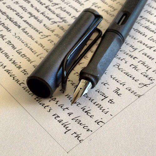 ラミーサファリの書き味の秘密
