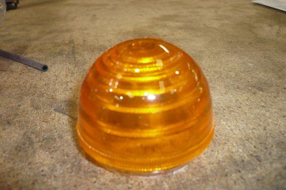 Plastico UNIVERSAL ambar tipo intermitente $5 #GEMO