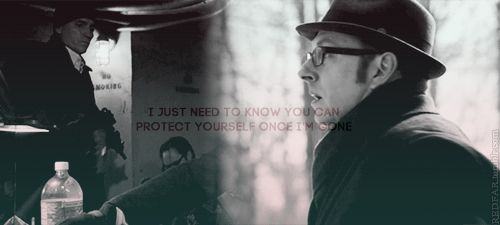 person of interest - i just need to know you can protect yourself once im gone - no, john, no