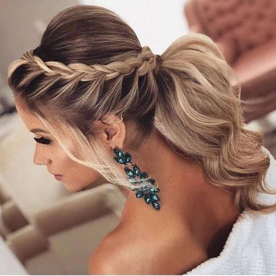 penteados para madrinha tranças encanto