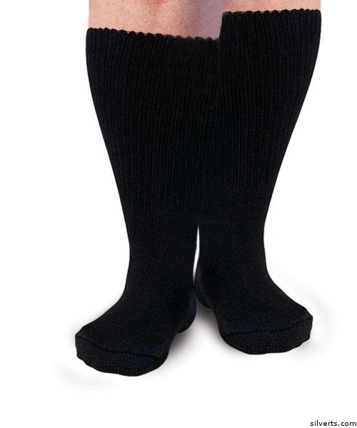 Womens Diabetic Socks - Swollen Feet Socks & Swollen Ankle Socks - Mens Diabetic Socks   US $9.98