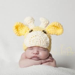 Baby Giraffe Hat Knitting Pattern : Crochet hat patterns, Baby giraffes and Hat patterns on ...