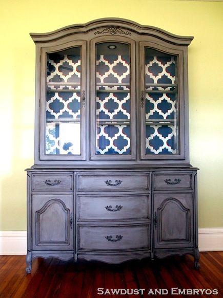 marcy s china cabinet vaisselier meubles et renovation meuble. Black Bedroom Furniture Sets. Home Design Ideas