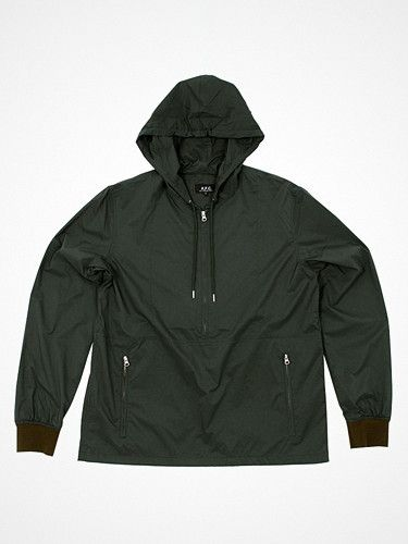 2012.05.09. A.P.C. SS12's windbreaker = awesomeness. Free shipping until tomorrow!