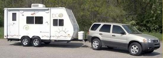 light weight hard travel trailer 2 queen beds Google Search