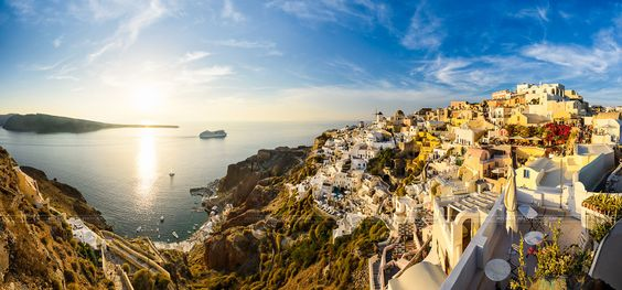 Sunset in Oia, Santorini by Michael Abid on 500px