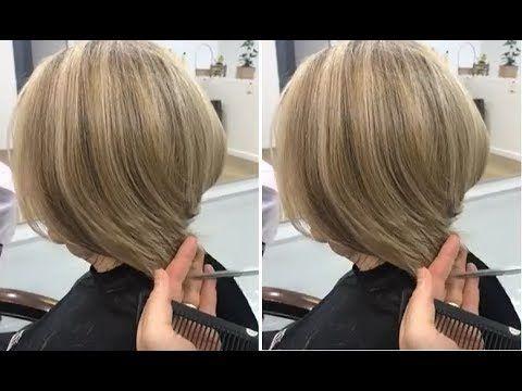 Short Layered Bob Haircut Tutorial For Women Short Bob Hairstyles Youtube Layered Bob Haircuts Short Bob Hairstyles Layered Bob Short