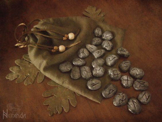 witchyautumns:  Runestones by Neirahda ☽Etsy // ☽Facebook // ☽Instagram