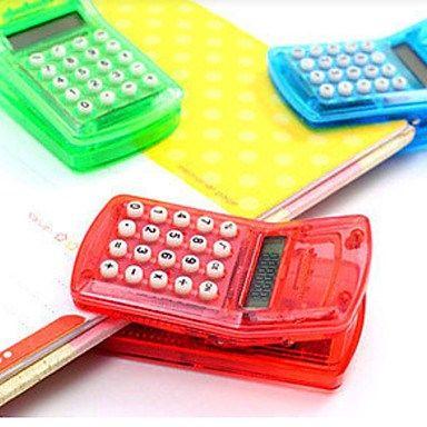 Calculadora que funciona como clip de papel