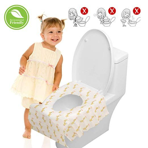 Disposable Toilet Seat Covers For Kids 20 Packs Toilet Covers