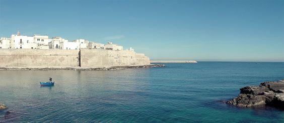 Die Bucht der Cala Porta Vecchia. Der kleine Strand ist nur 2 Minuten (in Flip Flops 3) von der Ferienwohnung entfernt. / / / / / / casapolpo.com (Ferienwohnung) CASA POLPO appartamento #italien #apulien #monopoli #puglia #italia #urlaub #ferienwohnung #italy #travel #casapolpo