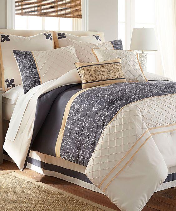 Lyra Eight-Piece Comforter Set
