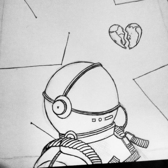 Astrounaut  in a land of broken hearts