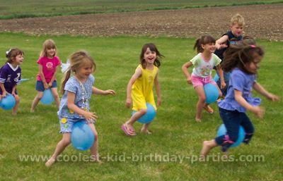 sea animal birthday party games