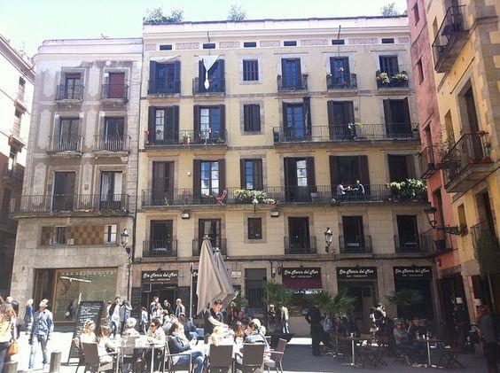 Places et terrasses #Barcelona