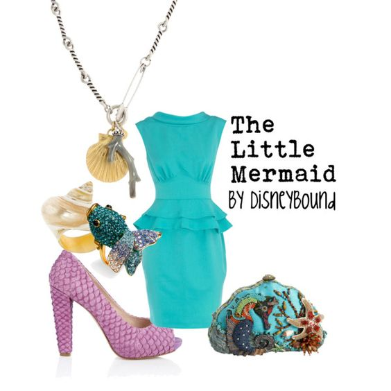 """""""The Little Mermaid"""" by lalakay on Polyvore"""