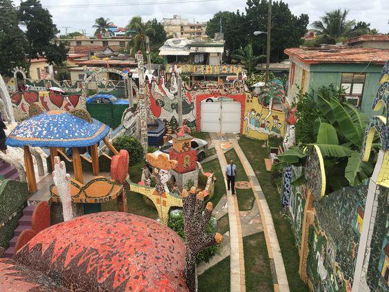 Jose Fuster gardens of tiles