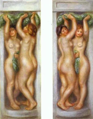 Caryatides - Pierre-Auguste Renoir