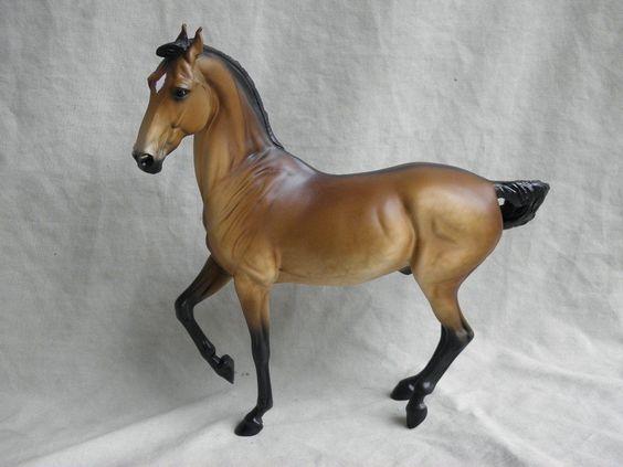 Breyer Horse OOAK CM/Custom Marwari Dappled Buckskin by MonteCello, USA ... £86 ... (2016/12/10)