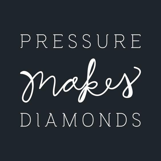 Pressure Makes Diamond: Blog And Diamonds On Pinterest