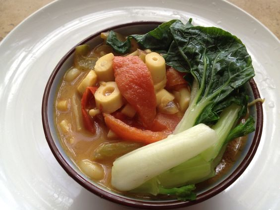 How to Cook Kukumaro Japanese Vegetable Curry Udong Soup
