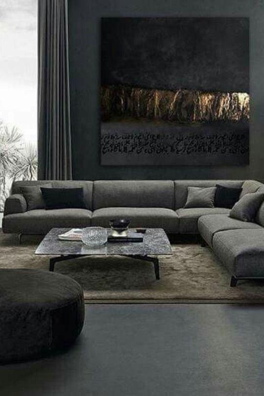 Top Interior Designer Anouska Hempel Masculine Living Rooms