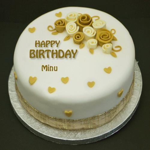 Write Name On Happiest Birthday Flower Cake Happy Birthday