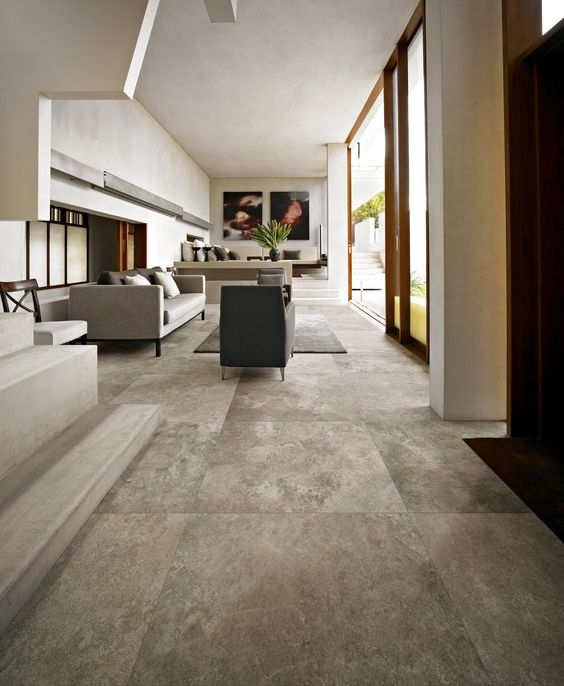 Velvet Platinum Porcelain Tiles From Italy