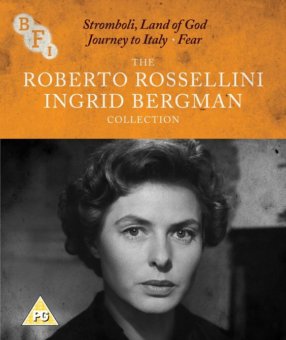 The Roberto Rossellini & Ingrid Bergman Collection: Stromboli, Land of God /Journey to Italy / Fear - Blu-Ray (BFI Ltd. Region B) Release Date: Available Now (Amazon U.K.)