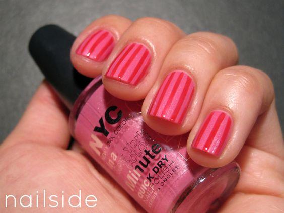 Nailside: Delicious Stripes