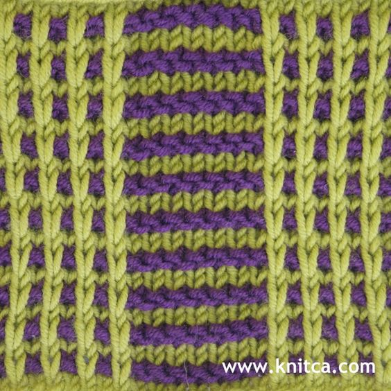 how to make a slip stitch in knitting
