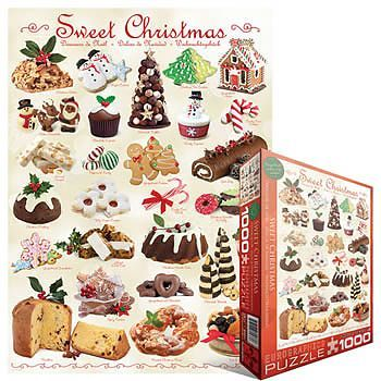 Sweet Christmas jigsaw puzzle by Eurographics