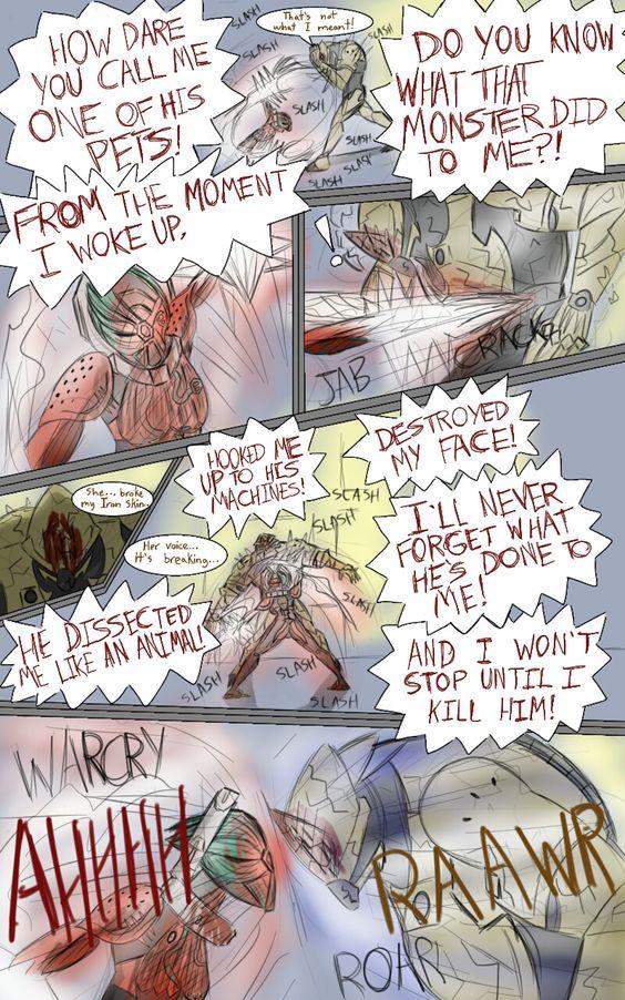 Valkyr Warframe Comic-Broken Free Page 12 by JackieTeJackal.deviantart.com on @DeviantArt
