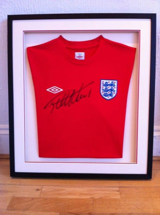 Signed England shirt.