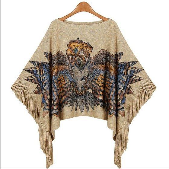 yellow animal tassel boat neck fashion cotton blend pullover sweater