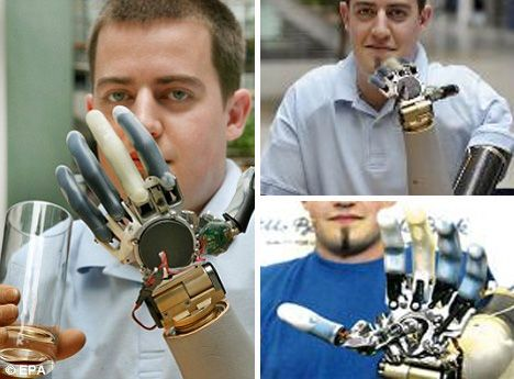 Prosthetic limbs powered by the mind!!! So smart...