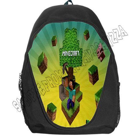 Backpack Bag-Minecraft School College Backpack Bag for School ...