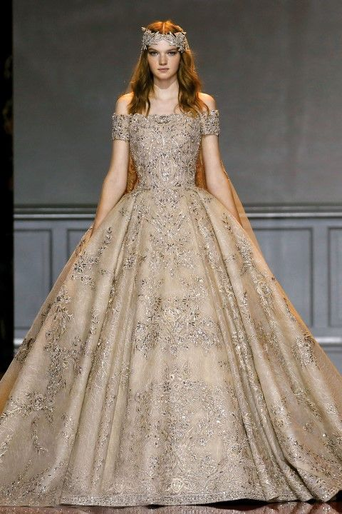 Zuhair murad haute couture fall winter 2016 2017 for Haute couture gowns