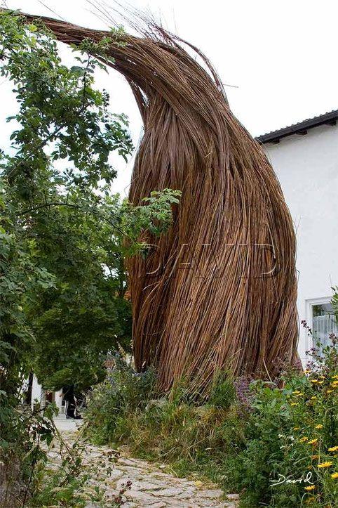 Totholz Totholzkunst Kunst Naturgarten Wildlife Garden Dead Wood Deadwood Art Object Weiden Willow Withy Withe Naturgarten Garten Weiden