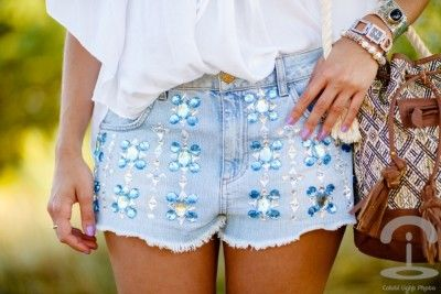 embellished detailed fashions sequin shorts