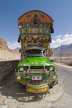 How much work and how many hours went into that? You have to admire the makers of these Indian gypsy trucks