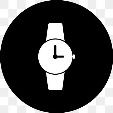 Vector Watch Icon Watch Icons Clock Time Png And Vector With Transparent Background For Free Download Clock Icon Time Icon Vector Illustration Design
