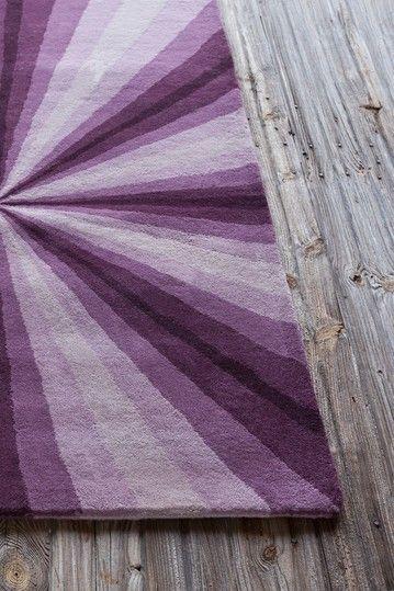 Allie Wool Rug - Purple/Violet - 5ft. x 7ft. 6in.