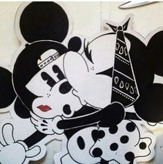 gangster minnie and mickey - Google Search | cool drawings ...