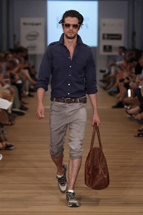 Eduardo Rivera Spring/Summer 2014 - MFSHOW MEN Madrid, Men's Spring Summer Fashion.