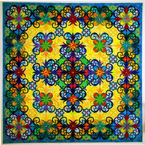 so vibrant and intricate